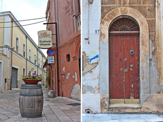 Streets of Brindisi, Italy