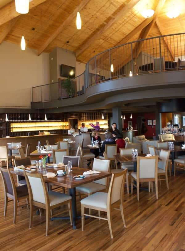 Willamette Valley Vineyards tasting room