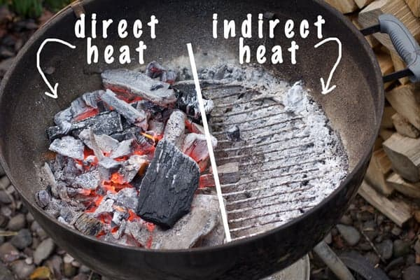 Direct Heat vs. Indirect Heat when cooking on a charcoal grill. How to perfect it every time!
