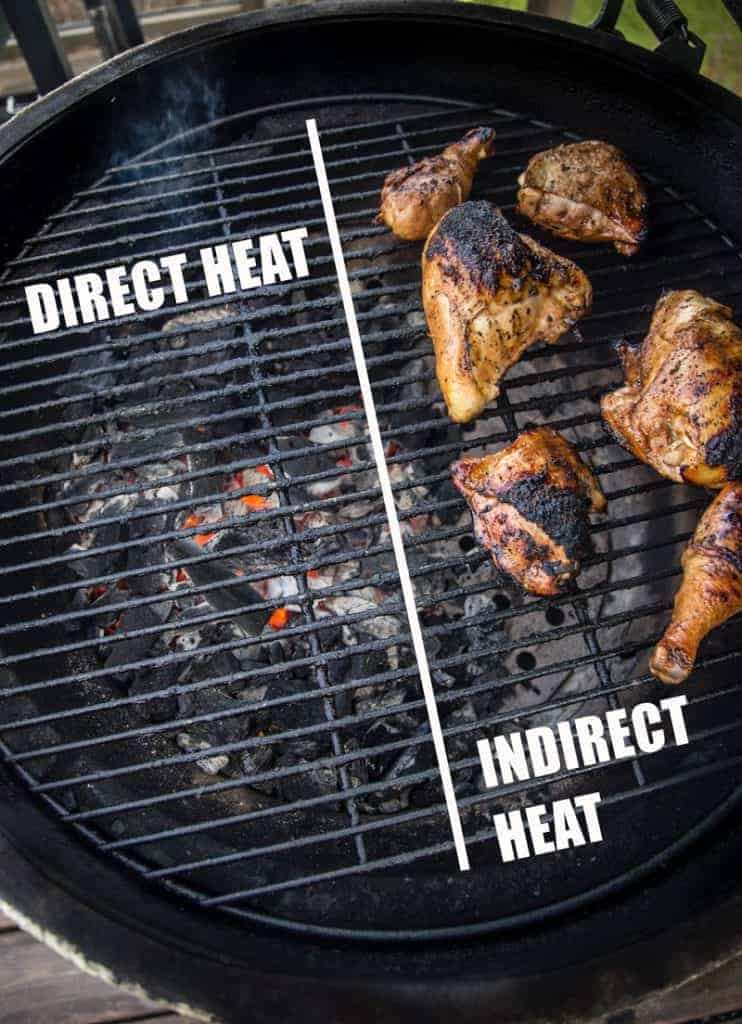 Direct vs Indirect cooking with chicken