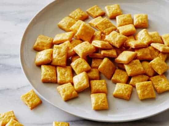 Food Network Healthy Cheesy Crackers