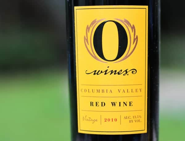 O Wines Red Wine Columbia Valley