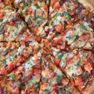 Smoked Brisket Pizza