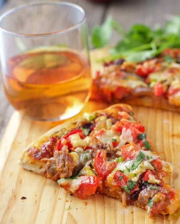 Smoked Brisket Pizza and Wine Pairing