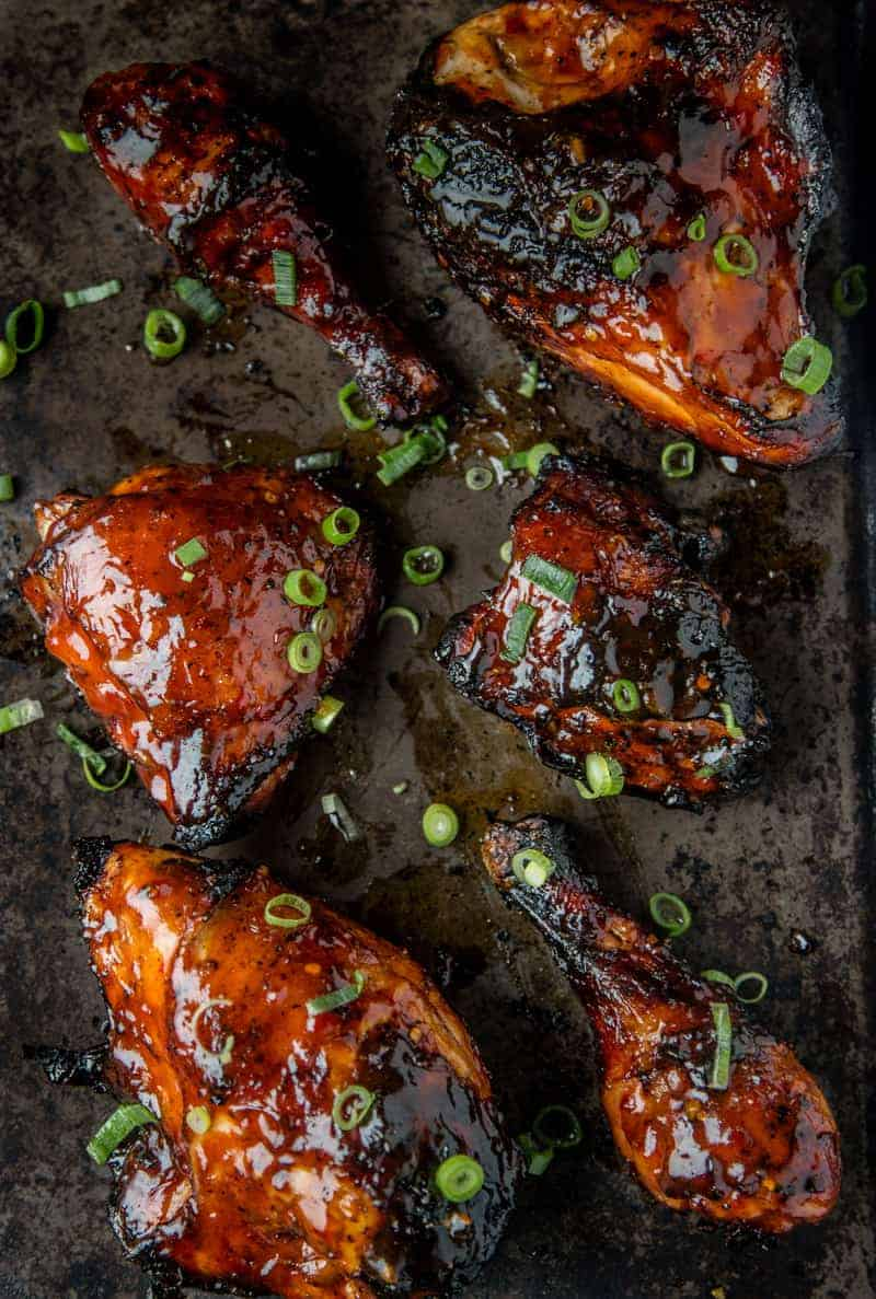 Sriracha Sweet and Spicy Grilled Chicken