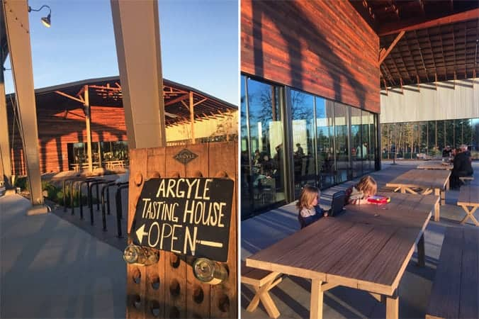 Argyle Winery's New Tasting Room in Dundee, Oregon