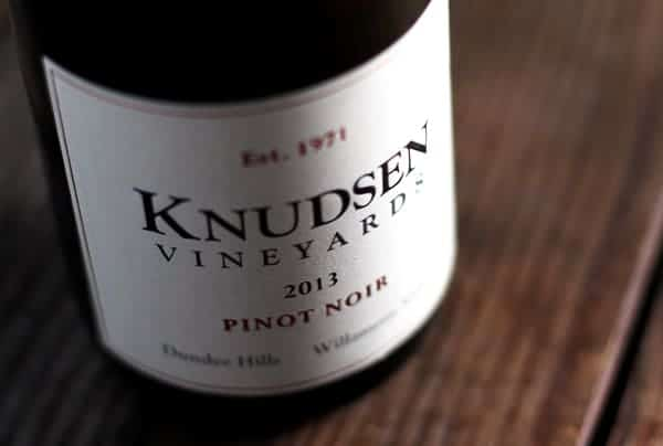 Knudsen Vineyards Pinot Noir 2013 Dudee Hills Oregon