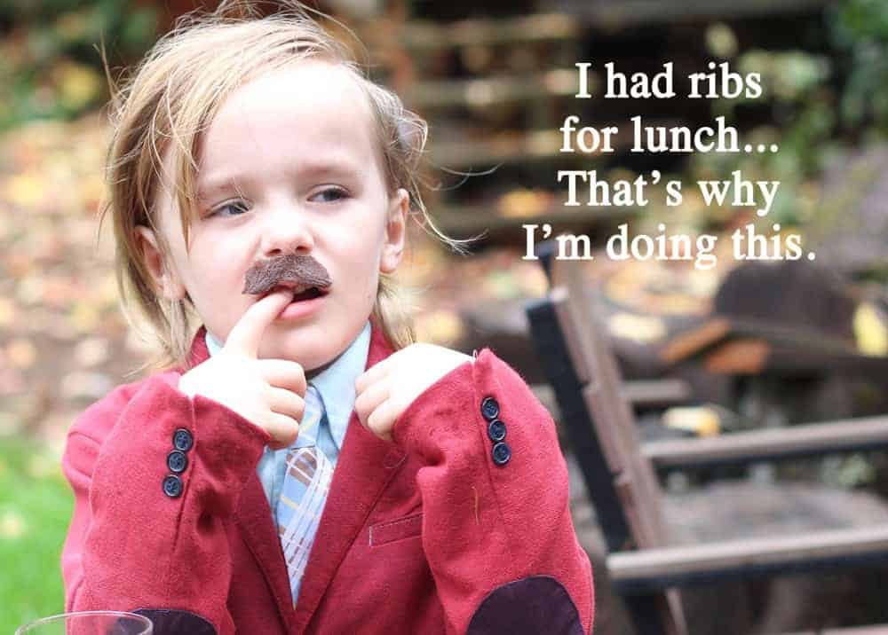 Ron Burgundy Halloween Costume for Kids