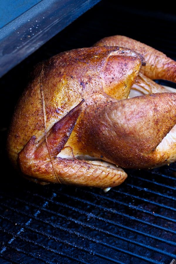 Thanksgiving Turkey on the Smoker