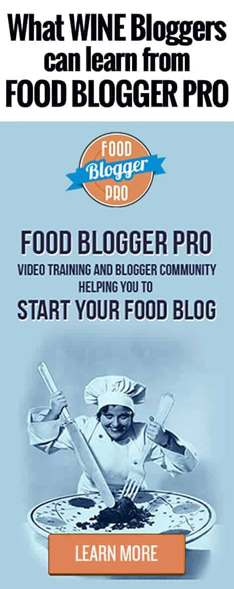 What Wine Bloggers can learn from Food Blogger Pro