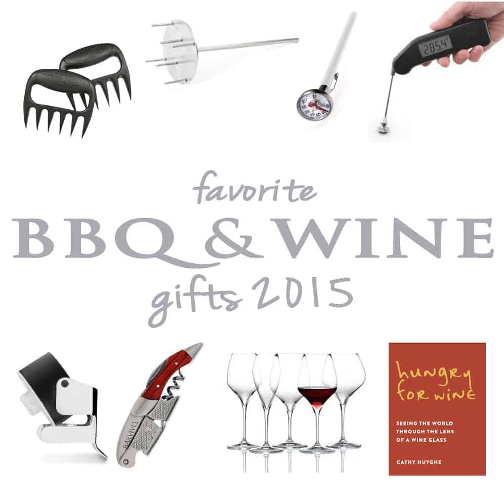 Favorite BBQ and Wine Gifts 2015