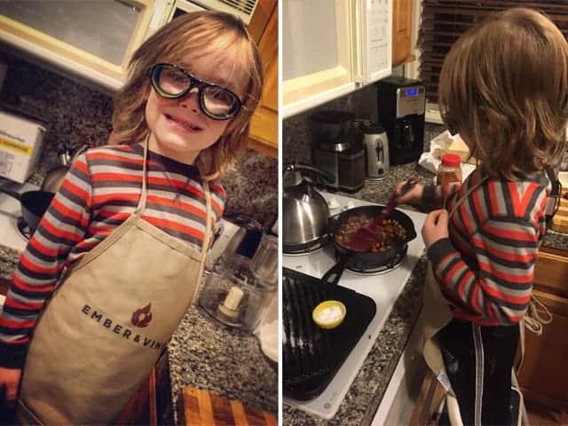 Kids Cooking Beef Brisket Empanadas