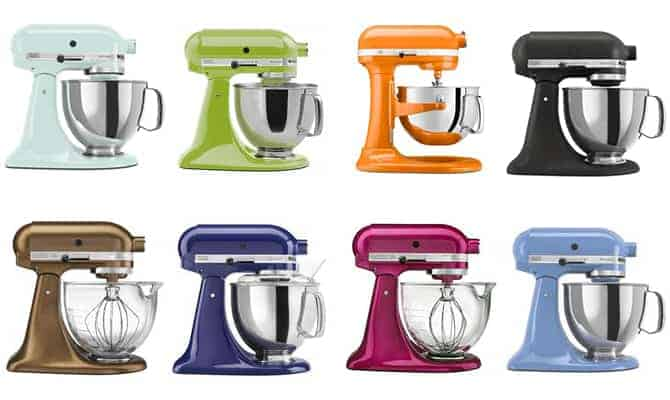 Enter to win a KitchenAid Stand Mixer of your choice. Giveaway runs through December 8th, 2015.