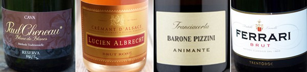 Sparkling Wine Recommendations from $15-$30