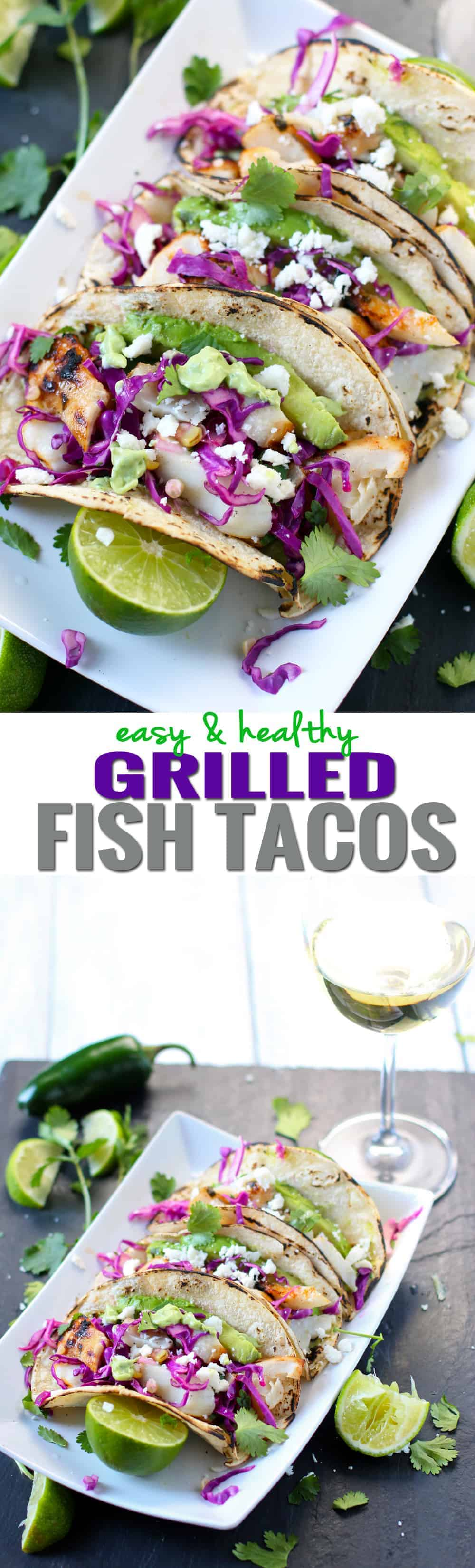 Easy and Healthy Grilled Fish Tacos