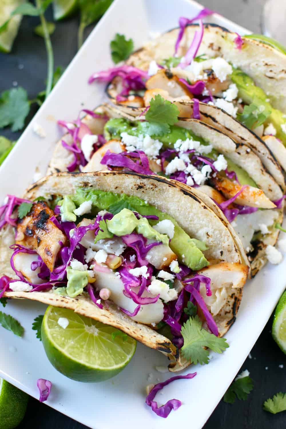 Easy and healthy grilled fish tacos and wine pairing for Best fish tacos nyc