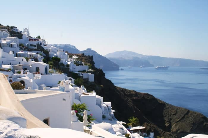 Santorini Greece Scenery