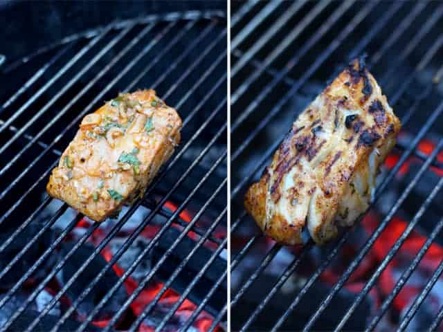 How to grill fish for the perfect tacos.