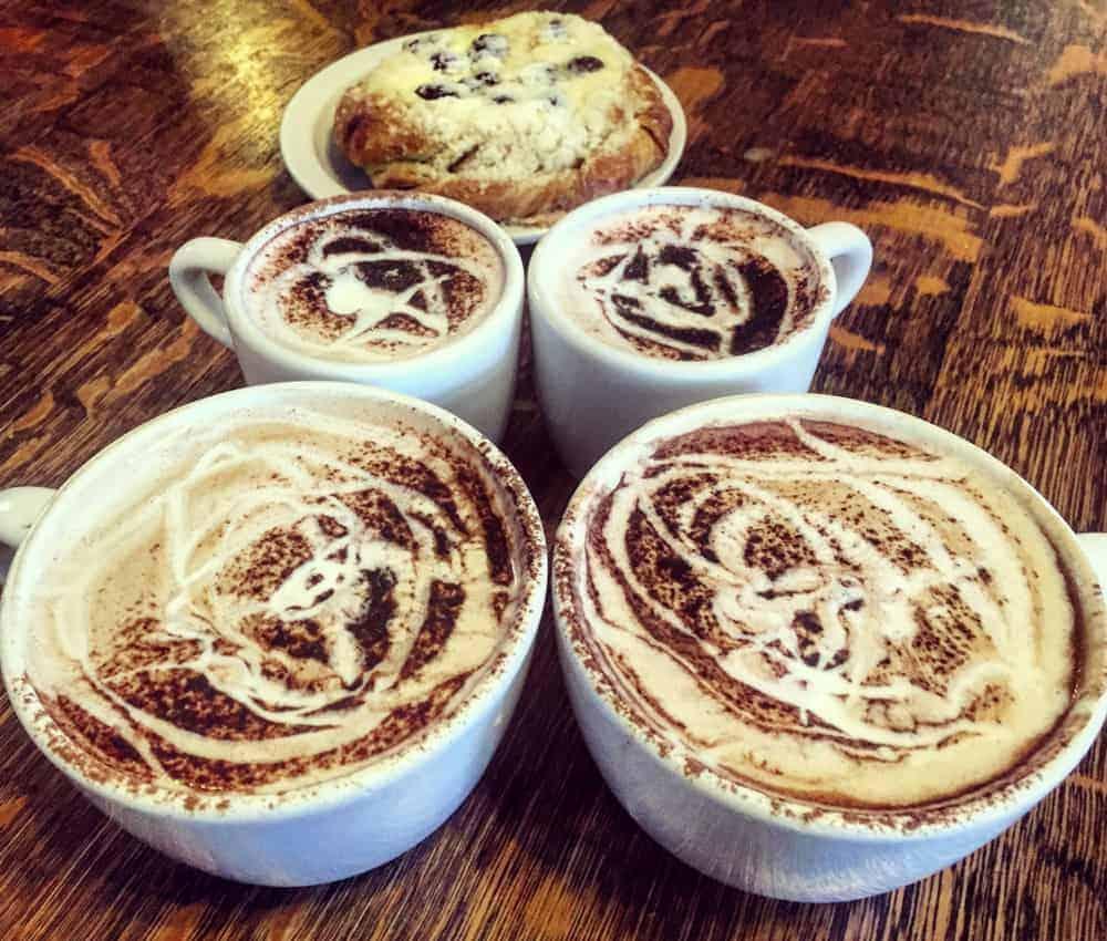 Macy's Special at Macy's European Coffee House Flagstaff Arizona