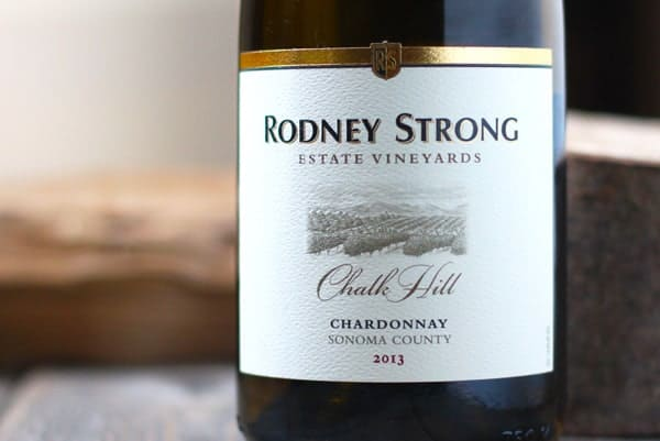 Rodney Strong Chalk Hill Chardonnay 2013, Sonoma County, CA