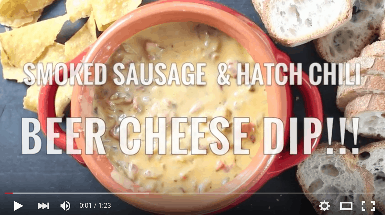 VIDEO Smoked Sausage and Beer Cheese Dip Recipe