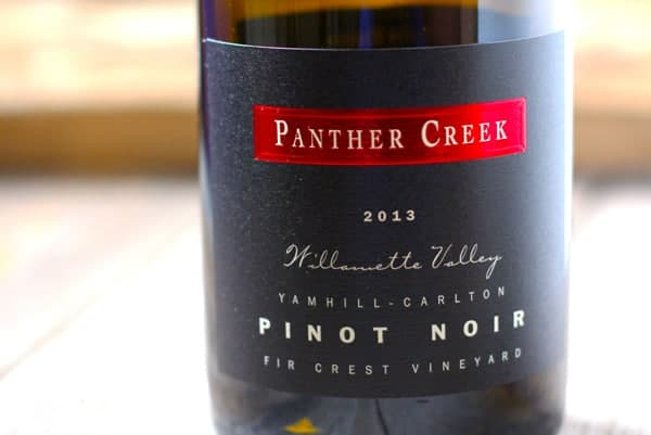 Panther Creek Pinot Noir Fir Crest Vineyard 2013, Yamhill-Carlton, Oregon, $45