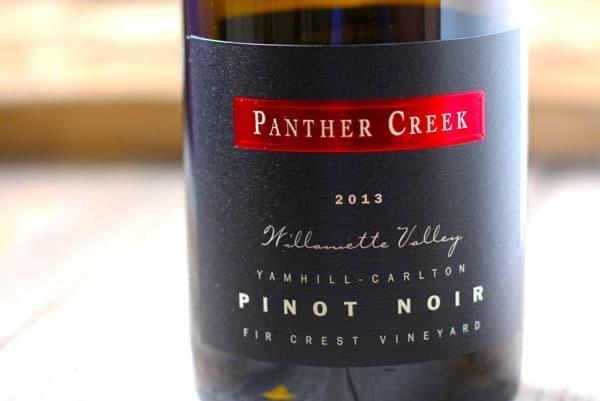 Panther Creek Pinot Noir Fir Crest Vineyard 2013, Yamhill-Carlton, Oregon, $45