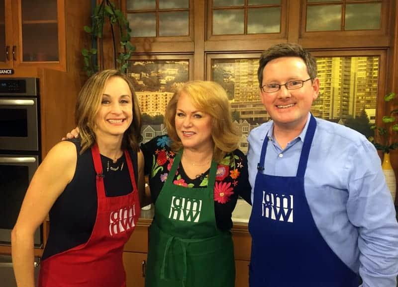 Cooking Demo on AMNW. Easy and Elegant Appetizers for an Oscar Party.
