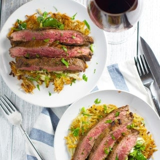 Reverse Food & Wine Pairing:  Sbragia Cabernet Sauvignon with Flank Steak