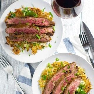 Reverse Food & Wine Pairing:  Sbragia Cabernet Sauvignon with Flank Steak