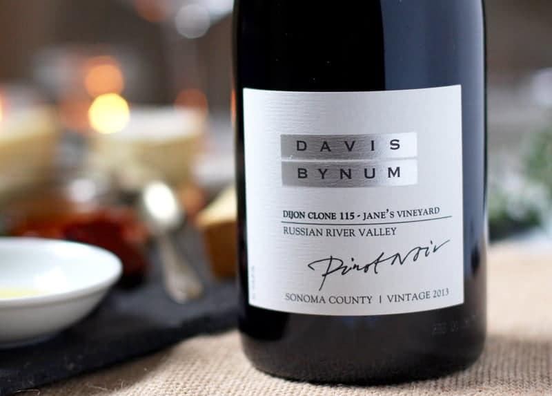 Davis Bynum Dijon Clone 115 Pinot Noir, Russian River Valley, CA