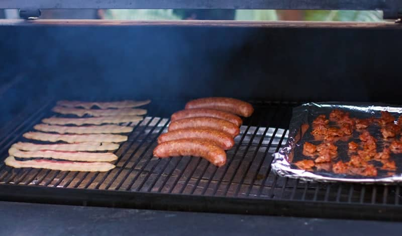 How to grill or smoke everything for Super Bowl Sunday. Prep app your meat in advance, then assemble all of your appetizers just in time for the game.