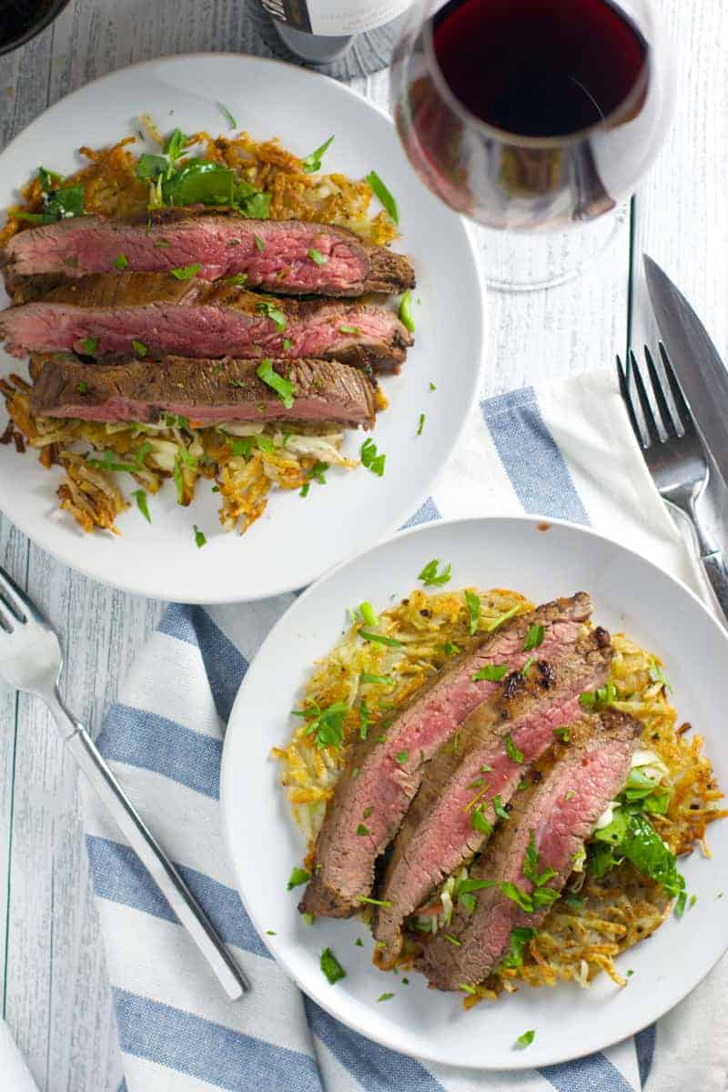 Pairing Sbragia Cabernet Sauvignon with Grilled Flank Steak