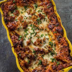 Smoked Sausage Lasagna