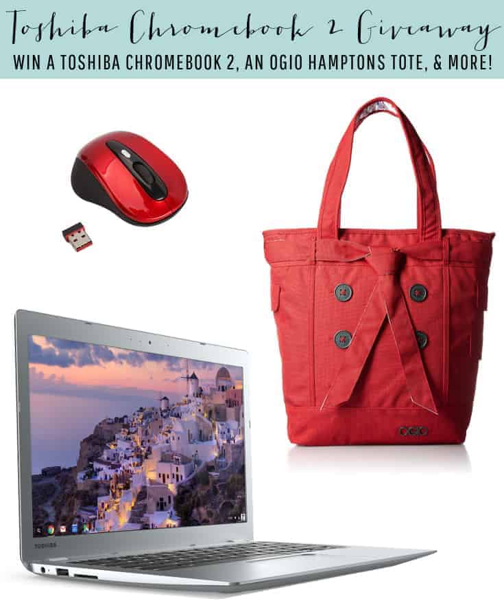 Big February Giveaway. Enter to win a free Toshiba Chrome Book Giveaway. Enter to win!