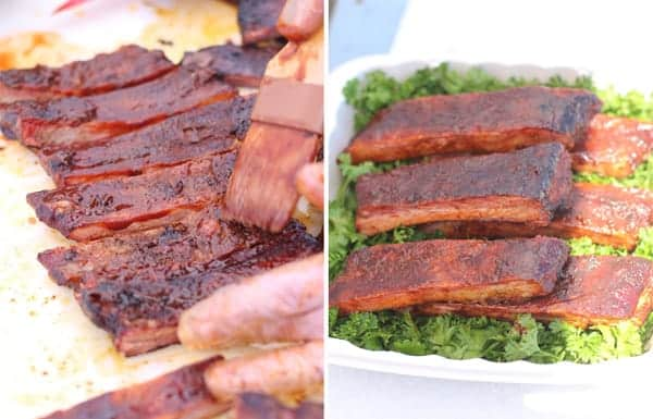 Competition-style Barbecue Ribs Recipe — Dishmaps