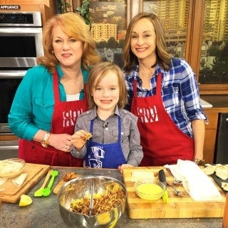 Cooking with Kids on AM Northwest