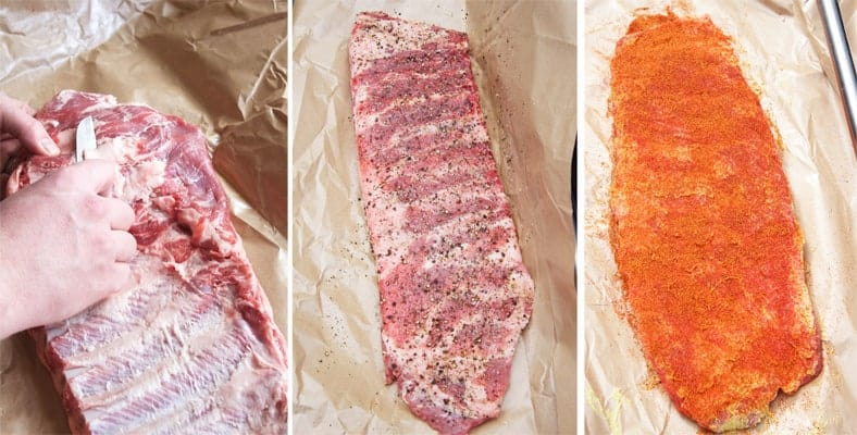 How to Prepare Competition Style Smoked Pork Ribs
