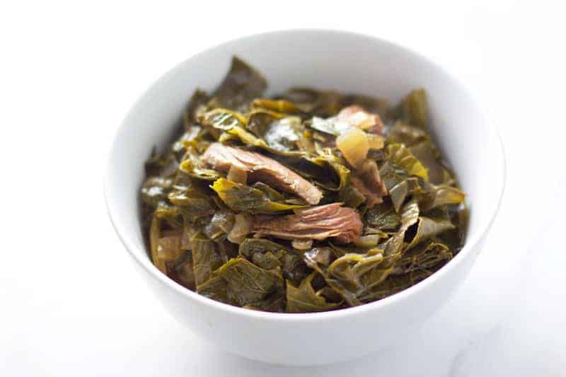 The secret to the most flavorful homemade Smoked Collard Greens