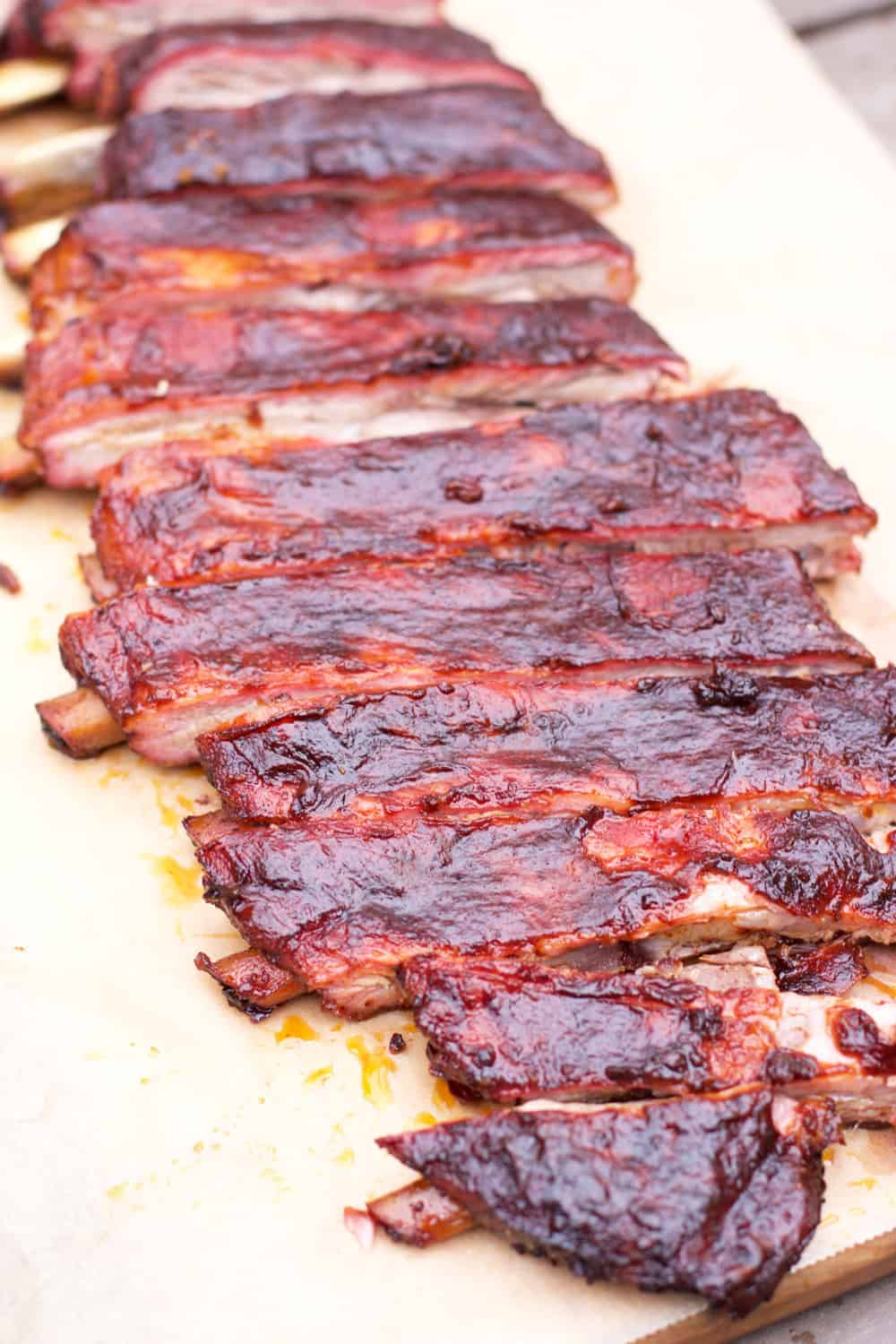 competition style smoked pork ribs a flavor journey. Black Bedroom Furniture Sets. Home Design Ideas