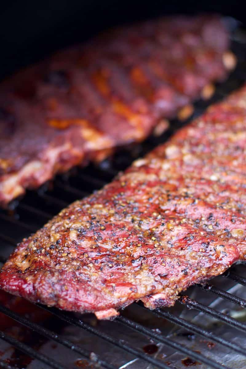 Smoked Pork Ribs Two Ways