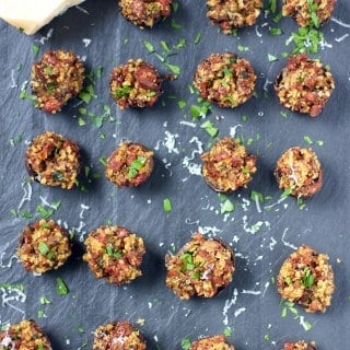 Smoked Sausage Stuffed Mushrooms