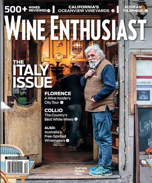 Wine Enthusiast Magazine April 2016 Issue
