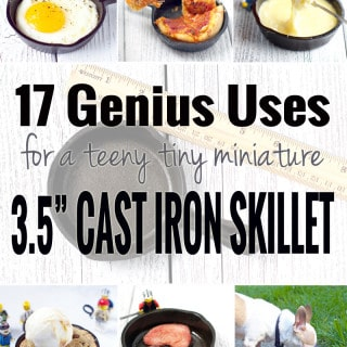 17 Genius Uses for a Teeny Tiny Miniature Cast Iron Skillet