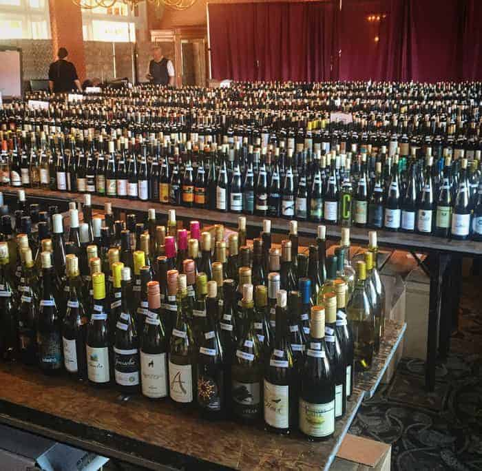 A sea of wine at the 2016 Cascadia Wine Competition