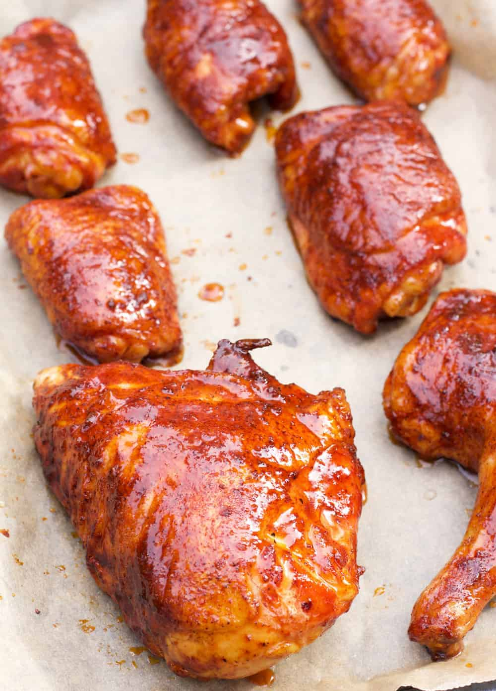 Barbecue Glazed Chicken