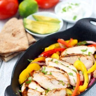 Smoked Chipotle Chicken Fajitas… and the Many Magical Wonders of a Garlic Chipotle Marinade
