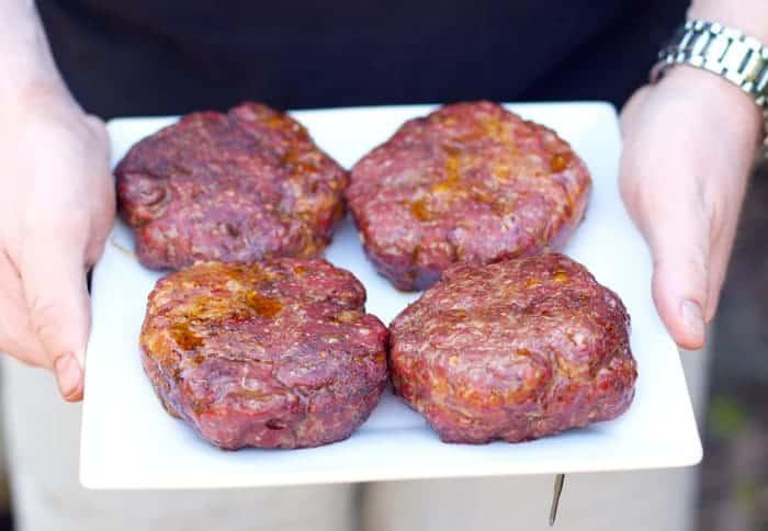 Smoked Chorizo Hamburgers