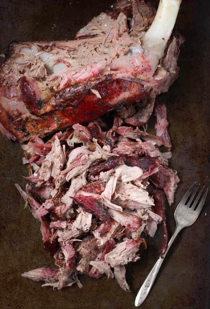 Smoked Pulled Lamb