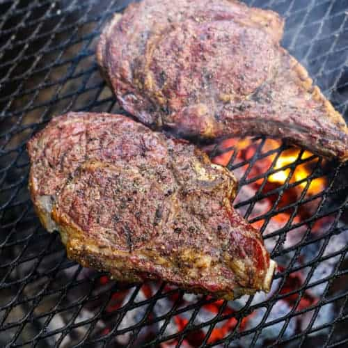 Perfect Reverse Sear Smoked Ribeye Steaks Recipe Vindulge